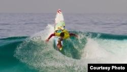 Fernando Frazao Medina, surfista brasileiro