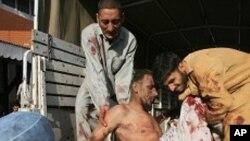 13일 파키스탄 북서부 발생한 자살 폭탄공격
