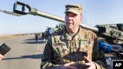 Командующий войсками США в Европе генерал-лейтенант Бен Ходжес