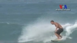 California'da Sörf Yaşamın Bir Parçası