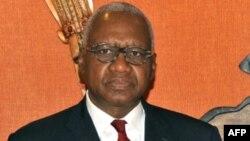 Le ministre guinéen Cheick Sako à Conakry, le 4 juillet 2015.
