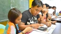 필리핀 해외 취업 여성 남편들 전업주부로