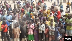 FILE - The number of Nigerian refugees fleeing to Cameroon to escape Boko Haram terrorism has doubled within the past month. Shown here is a refugee camp in Minawao on Cameroon's northern border with Nigeria, Feb. 23, 2015. (Moki Edwin Kindzeka/VOA)