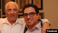 باقر و سیامک نمازی، پدر و پسری که در ایران به ده سال زندان محکوم شده اند.
