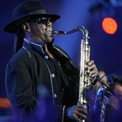 Clarence Clemons in February 2009