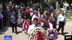 Shkodër: Zhvillohet ceremonia e rivarrimit të Tomë Ndojës