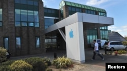FILE - Apple Operations International, a subsidiary of Apple Inc, is seen in Hollyhill, Cork, in the south of Ireland May 21, 2013.