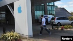 FILE - Apple Operations International, a subsidiary of Apple Inc, is seen in Hollyhill, Cork, in the south of Ireland, May 21, 2013.