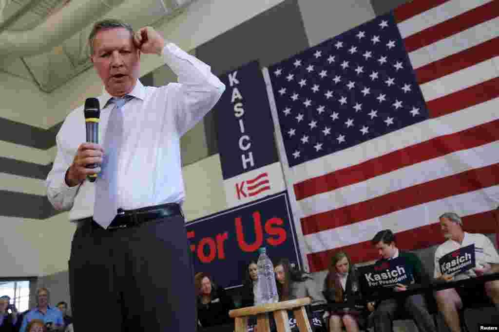 در این بین جان کیسیک، فرماندار اوهایو هرچند در رقابت جمهوریخواهان به لحاظ تعداد رای انتخاباتی در رده سوم است، اما سه شنبه شب به جز فیلادلفیا در چهار ایالت دیگر، آرای بیشتری از تد کروز نفر دوم رقابت جمهوریخواهان بدست آورد.