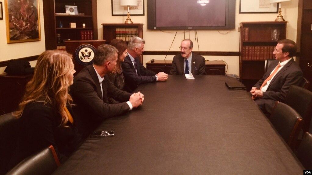 Anëtarë të Kongresit amerikan, mbështetje për një marrëveshje Kosovë-Serbi