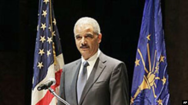 US Attorney General Eric Holder (file photo)