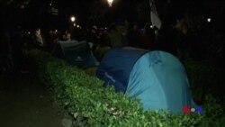 加泰羅尼亞議會推遲表決引發抗議示威