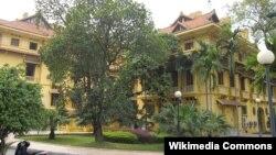 Bộ Ngoại giao Việt Nam ở quảng trường Ba Đình, Hà Nội, Việt Nam.