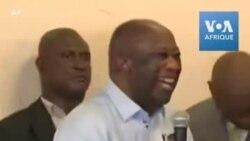 """Laurent Gbagbo """"content de retourner en Côte d'Ivoire et en Afrique"""""""