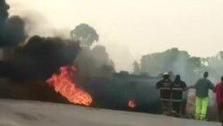 Au moins 22 morts dans l'explosion d'un camion-citerne en Ouganda