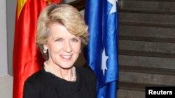 Ngoại trưởng Úc Julie Bishop.