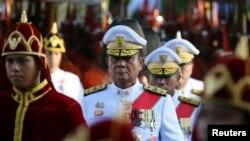 Thủ Tướng Thái Lan Prayuth Chan-ocha dự lễ đăng quang của Vua Maha Vajiralongkorn ở Bangkok, Thái Lan, ngày 5/5/2019. REUTERS/Athit Perawongmetha/Files