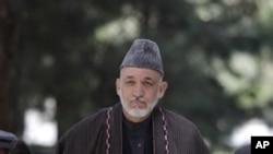 阿富汗總統卡爾扎伊將宣佈第二階段防務移交計劃。(資料圖片)