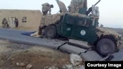 Image non-datée prise du site du groupe Etat islamique en Afghanistan.