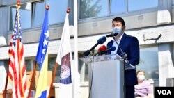 Erduan Kafedžić, Šef Ureda za borbu protiv korupcije KS