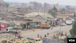 肯尼亞首都內羅畢的科羅戈喬貧民窟