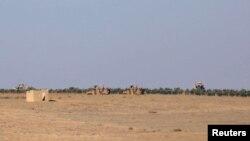 Türkiyə hərbi qüvvələri Suriyada Mənbic şəhəri yaxınlığında mövqe tutub