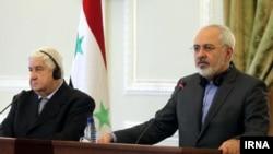 Suriye ve İran dışişleri bakanları Tahran'da İsrail hava saldırısını kınarken