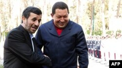 Махмуд Ахмадинежад и Уго Чавес
