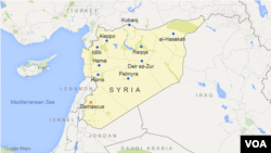 Turnout for Wednesday's vote in Syria reportedly is uneven.