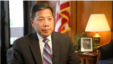 Deputy Secretary of Labor Christopher Lu during a VOA interview, Washington, June 22, 2016.