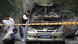 هند می گوید یک تروریست بسیار آزموده حمله به اتومبیل سفارت اسراییل را انجام داد