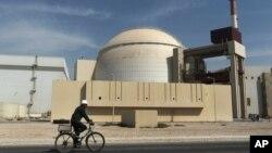 Reaktor nuklir Bushehr di Iran selatan. (Foto: Dok)