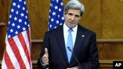 美国国务卿克里(资料图片)