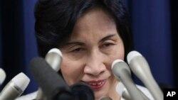 日本法務大臣松島綠星期一宣布辭職。
