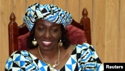 FILE - Nana Konadu Agyeman-Rawlings is shown Nov. 8, 1999.