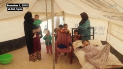 Paralyzed Iraqi Woman Struggles for Life at Syria Refugee Camp