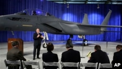 Chiến đấu cơ F-15 Silent Eagle của công ty Boeing.