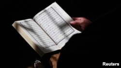 FILE - The Quran, the Muslim holy book, is shown in this file photo.