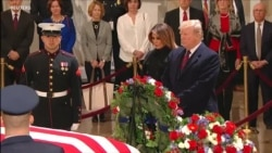 Perezida Trump Yunamiye George H.W. Bush Yahoze Ari Perezida wa Amerika