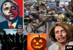 Карикатура на Обаму в Хэллоуин вызвала всеобщее возмущение