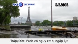 Paris có nguy cơ bị lụt sau mưa lớn (VOA60)