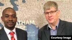 Nelson Chamisa Chatham House Visit