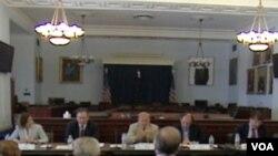 Saslušanje u Helsinškoj komisiji u Kongresa SAD, Washington 26. 07. 2011.