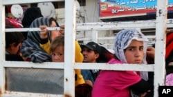 Para pengungsi Suriah