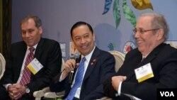 Menteri Perdagangan Thomas Lembong dalam KTT Investasi AS-Indonesia di Willard Hotel, Washington DC (26/10). (Foto: BKPM)