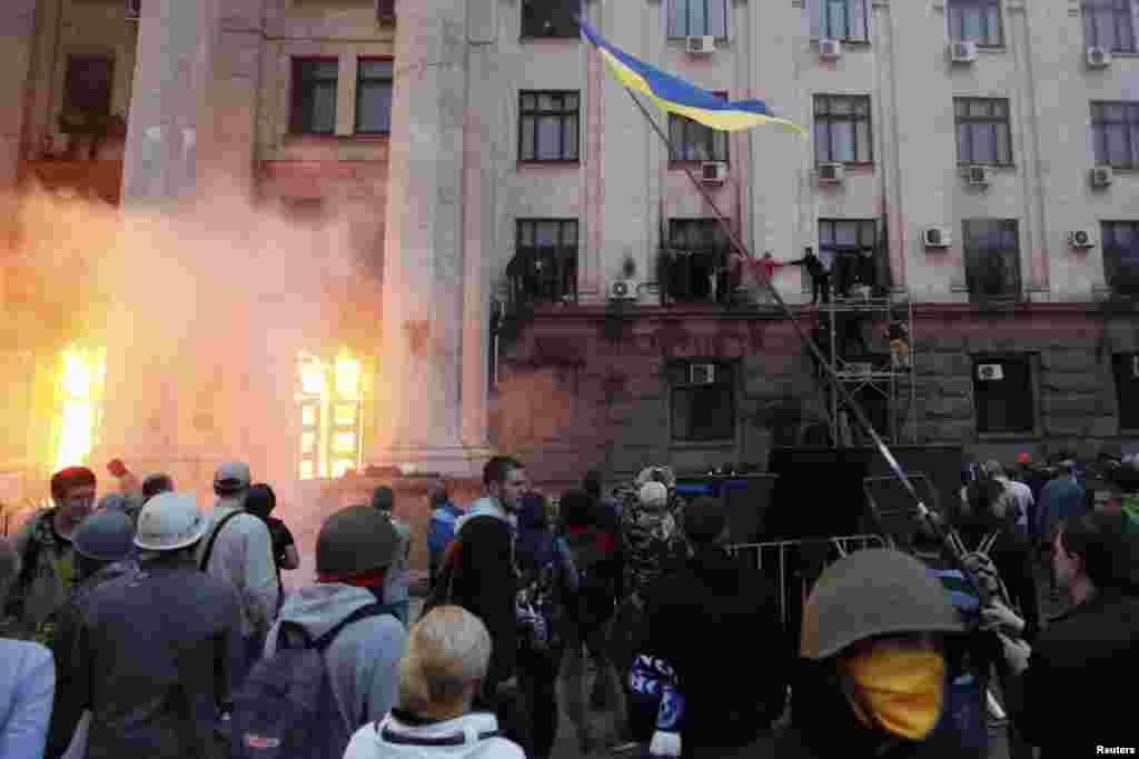 Նոր բախումներ Ուկրաինայում