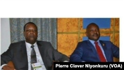 Abahisi Pierre Buyoya na Pierre Nkurunziza Bose bahoze Barongoye Uburundi