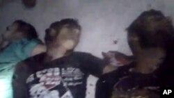Предполагаемые жертвы трагедии в деревне Тремс