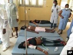 50 estudantes foram socorridas no hospital