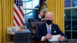 Joe Biden a beaucoup insisté sur le thème de l'unité nationale